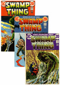 Bronze Age (1970-1979):Horror, Swamp Thing/Beware the Creeper Group (DC, 1968-76).... (Total: 14Comic Books)