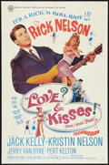 "Movie Posters:Rock and Roll, Love and Kisses (Universal, 1965). One Sheet (27"" X 41""). Rock andRoll.. ..."
