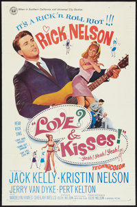 """Love and Kisses (Universal, 1965). One Sheet (27"""" X 41""""). Rock and Roll"""