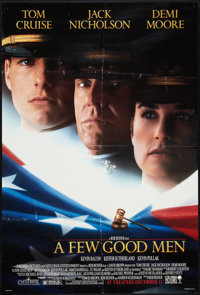 """A Few Good Men Lot (Columbia, 1992). One Sheets (2) (27"""" X 40"""") DS Advance Style B. Drama. ... (Total: 2 Items..."""