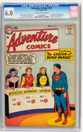 Silver Age (1956-1969):Superhero, Adventure Comics #247 (DC, 1958) CGC FN 6.0 Cream to off-white pages....
