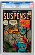 Silver Age (1956-1969):Science Fiction, Tales of Suspense #2 (Marvel, 1959) CGC VF- 7.5 Cream to off-whitepages....