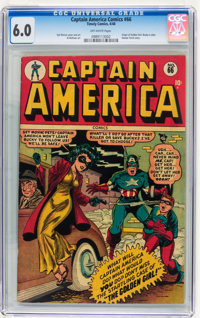 Captain America Comics #66 (Timely, 1948) CGC FN 6.0 Off-white pages