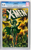 Silver Age (1956-1969):Superhero, X-Men #50 (Marvel, 1968) CGC NM/MT 9.8 Off-white to white pages....