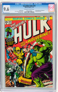 Bronze Age (1970-1979):Superhero, The Incredible Hulk #181 (Marvel, 1974) CGC NM+ 9.6 Off-white towhite pages....