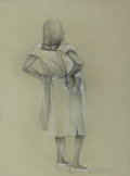 Fine Art - Work on Paper:Drawing, HARVEY JOHNSON (American, b. 1947). Rites of Spring, 1993.Charcoal on paper. 24 x 18 inches (61.0 x 45.7 cm). Titled, s...