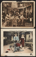 "Movie Posters:Drama, Big Game Lot (Metro, 1921). Lobby Cards (2) (11"" X 14""). Drama..... (Total: 2 Items)"
