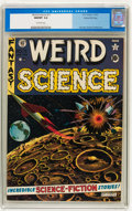 Golden Age (1938-1955):Science Fiction, Weird Science #11 Gaines File Copy pedigree (EC, 1952) CGC NM/MT9.8 Off-white pages....