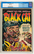 Golden Age (1938-1955):Horror, Black Cat Mystery #50 File Copy (Harvey, 1954) CGC NM 9.4 Cream tooff-white pages....