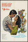 "Movie Posters:Drama, The Sandpiper (MGM, 1965). One Sheet (27"" X 41""). Drama.. ..."