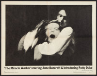 "The Miracle Worker (United Artists, 1962). Half Sheet (22"" X 28""). Drama"