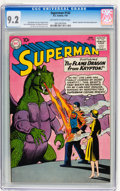 Silver Age (1956-1969):Superhero, Superman #142 (DC, 1961) CGC NM- 9.2 Off-white to white pages....