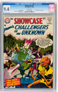 Silver Age (1956-1969):Superhero, Showcase #11 Challengers of the Unknown (DC, 1957) CGC NM 9.4 White pages....