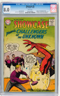 Silver Age (1956-1969):Superhero, Showcase #6 Challengers of the Unknown (DC, 1957) CGC VF 8.0 Whitepages....