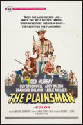 "Movie Posters:Western, The Plainsman (Universal, 1966). One Sheet (27"" X 41""). Western....."