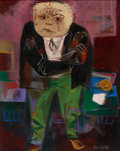 Fine Art - Painting, American:Modern  (1900 1949), WILLIAM GROPPER (American, 1897-1977). The Mug-Wump. Oil oncanvas . 20 x 16 inches (50.8 x 40.6 cm). Signed lower right...