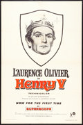 "Movie Posters:Drama, Henry V Lot (United Artists, R-1958). One Sheets (2) (27"" X 41""). Drama.. ... (Total: 2 Items)"