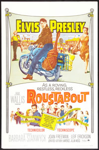 "Roustabout (Paramount, 1964). One Sheet (27"" X 41""). Elvis Presley"