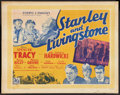 "Movie Posters:Adventure, Stanley and Livingstone (20th Century Fox, 1939). British HalfSheet (22"" X 28""). Adventure.. ..."