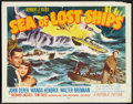 """Movie Posters:Adventure, Sea of Lost Ships (Republic, 1953). Half Sheet (22"""" X 28"""") Style A.Adventure.. ..."""