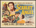 "Movie Posters:Adventure, Scarlet Angel (Universal International, 1952). Half Sheet (22"" X28"") Style A. Adventure.. ..."