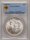 Morgan Dollars, 1891-O $1 MS64+ PCGS Secure....