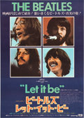 """Movie Posters:Rock and Roll, Let It Be (United Artists, 1970). Japanese B2 (20"""" X 28.5"""").. ..."""