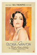 """Movie Posters:Drama, The Trespasser (United Artists, 1929). One Sheet (27"""" X 41"""").. ..."""