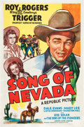 """Movie Posters:Western, Song of Nevada (Republic, 1944). One Sheet (27"""" X 41"""").. ..."""