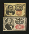 Fractional Currency:Fifth Issue, Two Fifth Issue Fractionals.... (Total: 2 notes)