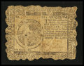 Colonial Notes:Continental Congress Issues, Continental Currency November 2, 1776 $6 Very Good....