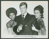 "Roger Moore in ""Live and Let Die"" (United Artists, 1973). Photos (10) (8"" X 10""). James Bond. ... (T..."