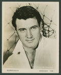 """Movie Posters:Miscellaneous, Rock Hudson (MGM, 1957). Photo (8"""" X 10""""). Miscellaneous.. ..."""