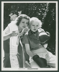 "Alice Faye and Barbara King (20th Century Fox, 1934). Photos (2) (8"" X 10""). Miscellaneous. ... (Total: 2 Item..."