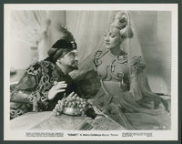 """Marlene Dietrich and Ronald Colman in """"Kismet"""" (MGM, 1944). Photos (4) (8"""" X 10""""). Fantasy. ... (Tot..."""