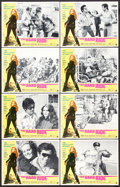 "Movie Posters:Action, The Hard Ride (American International, 1971). Lobby Card Set of 8(11"" X 14""). Action.. ... (Total: 8 Items)"