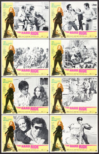 "The Hard Ride (American International, 1971). Lobby Card Set of 8 (11"" X 14""). Action. ... (Total: 8 Items)"