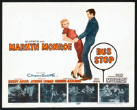 "Bus Stop (20th Century Fox, 1956). Title Lobby Card & Lobby Card (11"" X 14""). Drama. ... (Total: 2 Ite..."