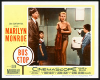 "Bus Stop (20th Century Fox, 1956). Lobby Cards (2) (11"" X 14""). Drama. ... (Total: 2 Items)"