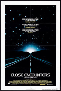 """Close Encounters of the Third Kind (Columbia, 1977). One Sheet (27"""" X 41""""). Science Fiction"""