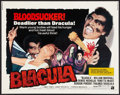 "Movie Posters:Blaxploitation, Blacula (American International, 1972). Half Sheet (22"" X 28"").Blaxploitation.. ..."