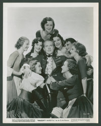 "Jeanette MacDonald and Nelson Eddy in ""Naughty Marietta"" (MGM, 1935). Photos (5) (8"" X 10""). Musical..."