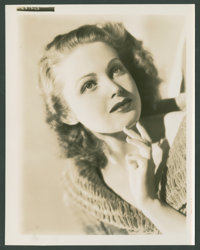 """June Lang (20th Century Fox, 1936-1937). Photos (5) (8"""" X 10""""). Miscellaneous. ... (Total: 5 Items)"""