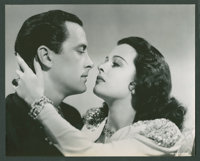 """Joan Bennett and John Hubbard in """"The Housekeeper's Daughter"""" (United Artists, 1939). Photos (4) (8"""" X 10..."""