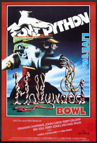 """Monty Python Live at the Hollywood Bowl (Hand Made Films, 1982). British One Sheet (27"""" X 40""""). Comedy"""
