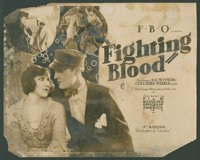 "Fighting Blood (FBO, 1923). Title Lobby Card and Lobby Cards (15) (11"" X 14""). Comedy. ... (Total: 16 Items)"