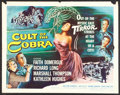 "Movie Posters:Horror, Cult of the Cobra (Universal International, 1955). Half Sheet (22"" X 28""). Horror.. ..."