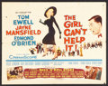 "Movie Posters:Comedy, The Girl Can't Help It (20th Century Fox, 1956). Half Sheet (22"" X 28""). Comedy.. ..."