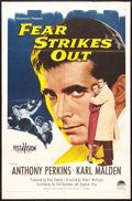 "Movie Posters:Drama, Fear Strikes Out (Paramount, 1957). One Sheet (27"" X 41""). Drama....."