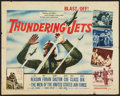 "Movie Posters:Drama, Thundering Jets (20th Century Fox, 1958). Half Sheet (22"" X 28"").Drama.. ..."